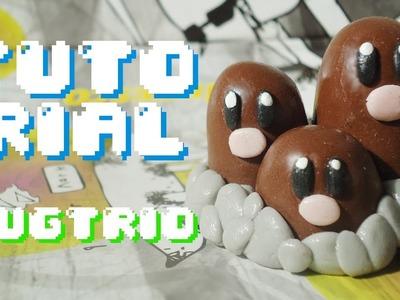 Pokemon DUGTRIO (Polymer Clay) TUTORIAL. (Porcelana Fria)