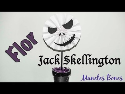 Roseta de papel Jack Skellington | Viernes de papel - Tutorial DIY