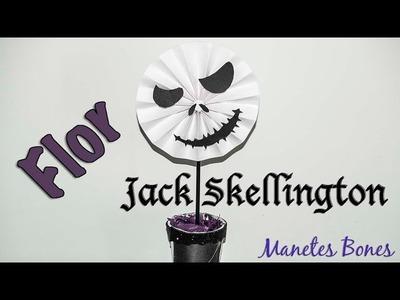 Roseta de papel Jack Skellington | Viernes de papel - Tutorial DIY