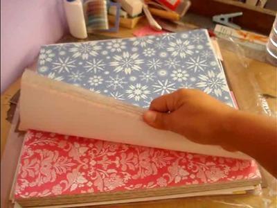 Scrapbooking. scrapbook para principiantes: Materiales básicos. papeles y Cartulinas Scrapbook