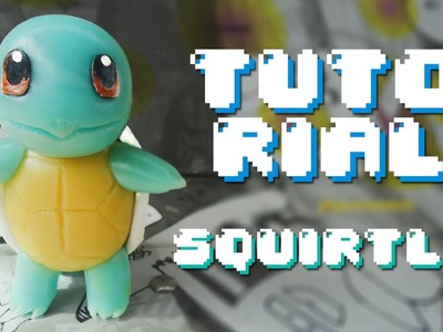 SQUIRTLE Pokemon Polymer Clay Tutorial. Porcelana Fria
