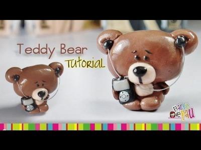 Teddy Bear Polymer Clay tutorial. Osito de arcilla polimérica