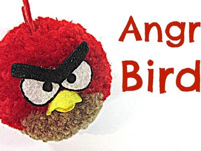 Tutorial: Angry Birds. (Como hacer pompones fácilmente)