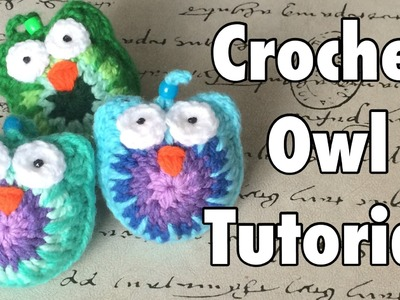 Tutorial: Buho a Crochet - Crochet Owl (English Subtitles)
