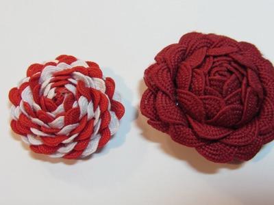Tutorial: Chic roses. Rosas chic.