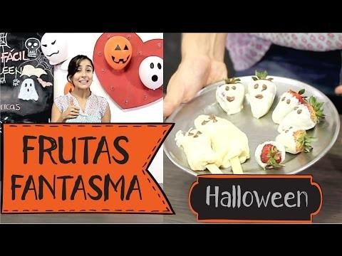 #6 DIY - Pasabocas Dulces con Fruta para Halloween (Ideas Decoración de Halloween) | Así de Fácil