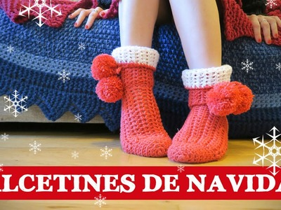 Calcetines de ganchillo Navideños | Crochet stocks