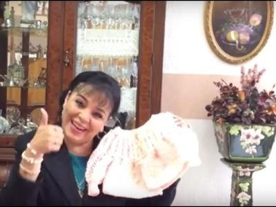 CHAMBRITA PARA BB - Complemento del Saquito Fácil y Rápido - Tejiendo con LAURA CEPEDA