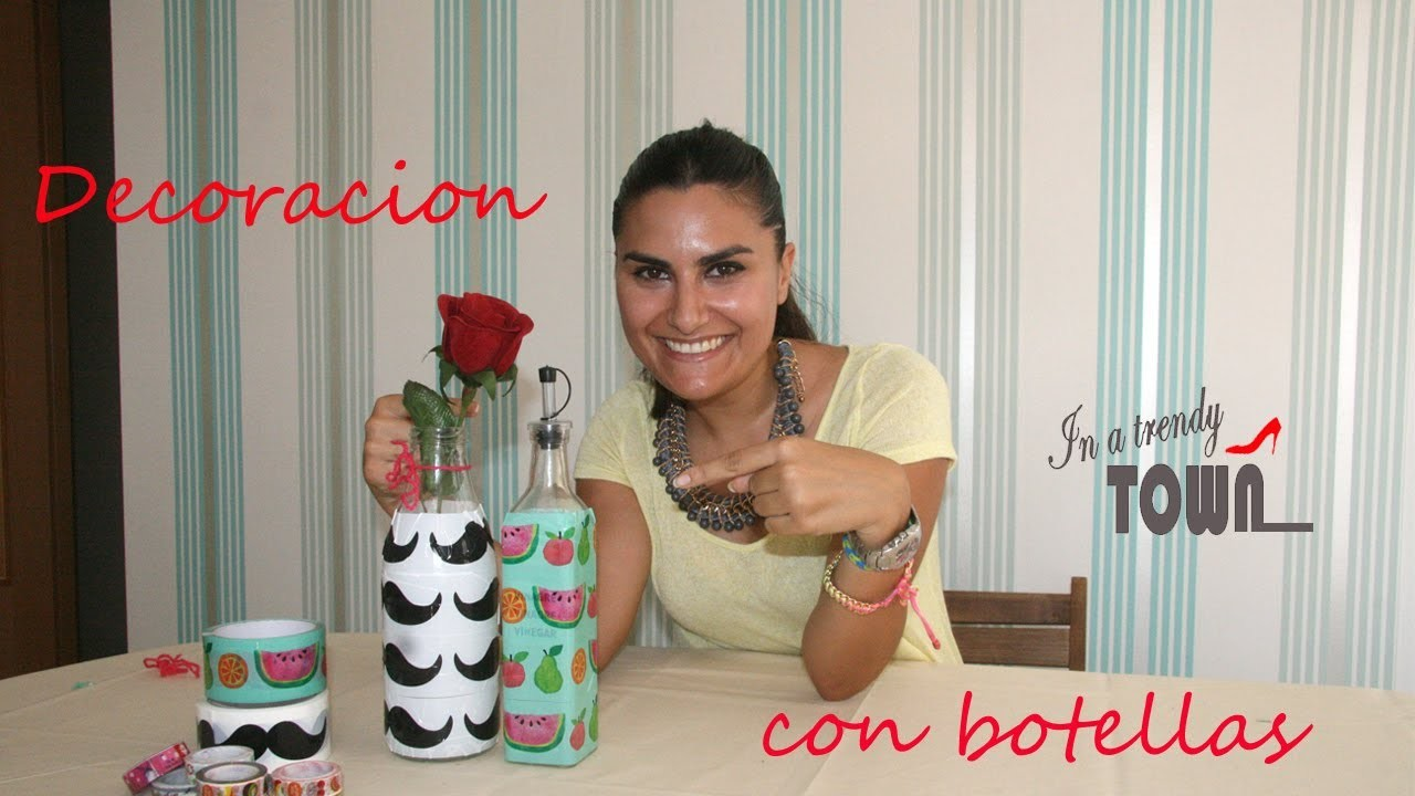 Como decorar con botellas