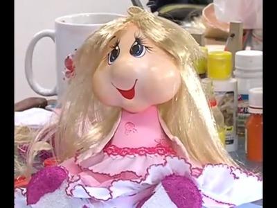 Como hacer una Muñeca 3D en Foamy - Hogar Tv  por Juan Gonzalo Angel