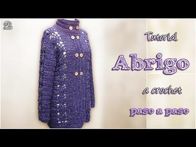 DIY Abrigo a crochet, paso a paso (2 de 2)
