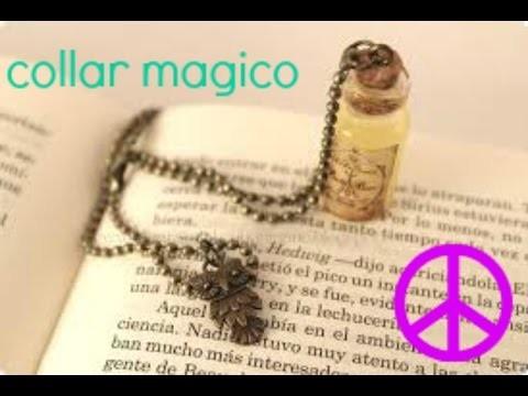 DIY collar poción mágica ♥ Tutorial Pocion (botellita)
