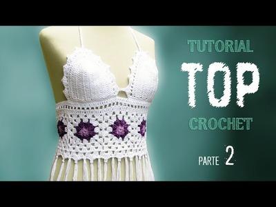 DIY Como tejer un TOP a crochet, paso a paso (2 de 2)