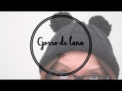 DIY: Gorro con pompones