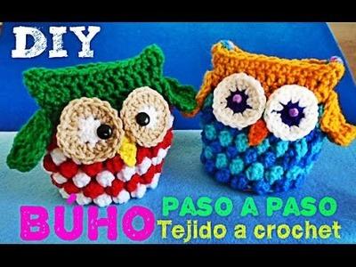 OWL CROCHET - Buho Tejido- Para toda ocasión!!