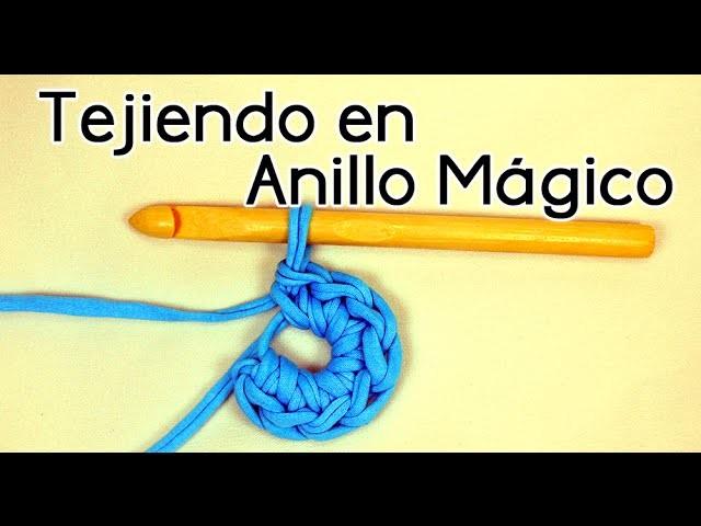 TEJIENDO EN ANILLO MÁGICO | Patrones Valhalla