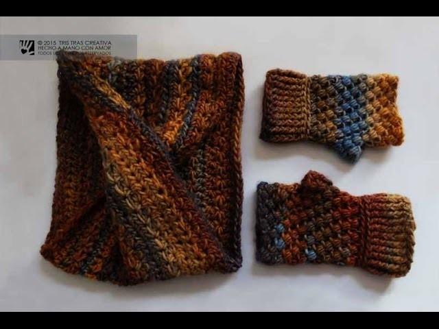 Tutorial CUELLO INFINITO MOEBIUS SIN COSTURA a Ganchillo. Crochet