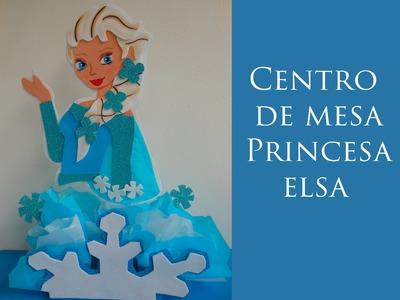 Centro de mesa Princesa Elsa Frozen