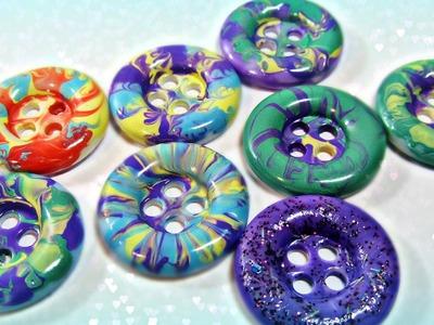 Decoración de botones. Buttons decoration.