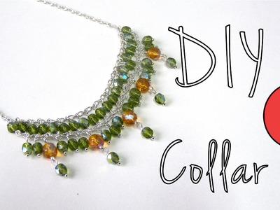 Manualidades DIY - Collar con cuentas de Bohemia y Cadena