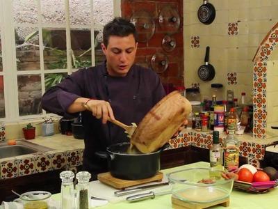 Pasta con salsa de hongos