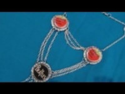 2.5 Collar de 3 CORCHOLATAS.estilo Lindsay Lohan. PARTE 1.Colección Be-Different.