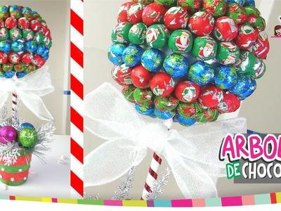 Arbolito DULCERO de chocolates