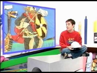 ART ATTACK - CAPITULO 23 - SEGUNDA PARTE - DISEÑA TU PROPIO ABECEDARIO