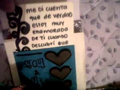 """""""carta explosiva"""" san valentin"""