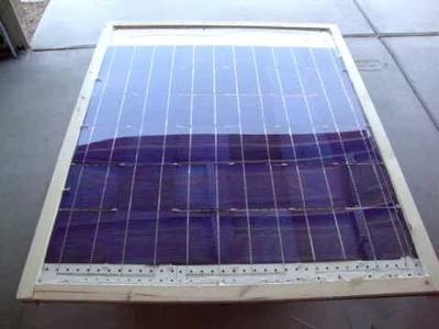 Como hacer panel solar en casa