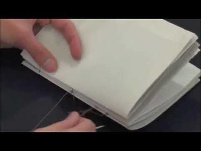 Elaboración costura de libro