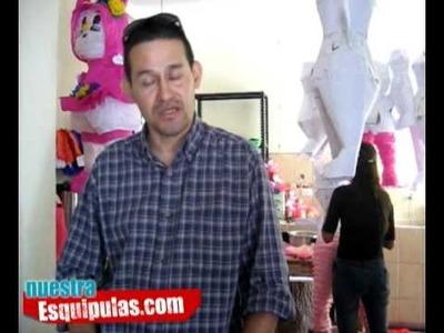 Empresa fabricante de piñatas en Esquipulas TAKA-TAKA