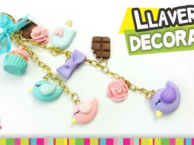 FÁCIL✔ Llavero Decorado. Decorated Keychain