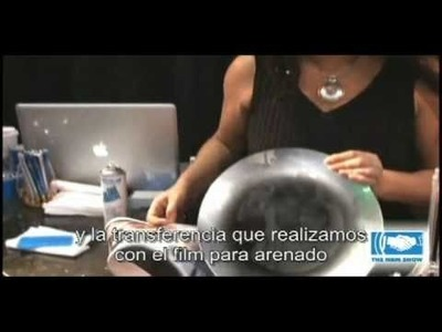 Grabado por Arenado, Sandblast Rayzist subt. Español