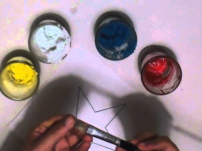 Jabón+pintura= Textura yeso. 5 tips