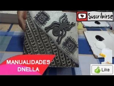"""Manualidades: Cajitas con Texturas - By:""""Taller Dnella""""2014"""