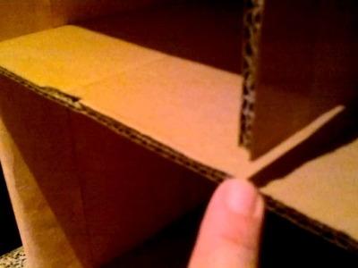Reciclando carton Cajonera Parte 1.3