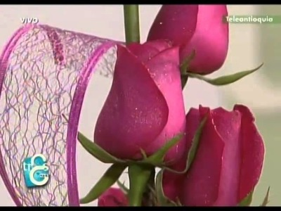 Arreglos florales para los 15´s