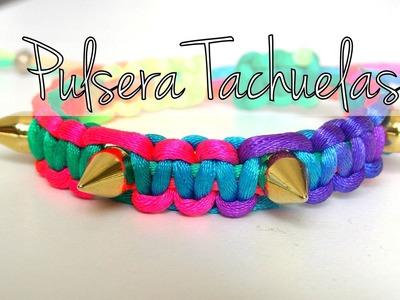 Bisuteria DIY - Pulsera de moda con tachuelas