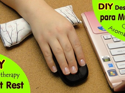 DIY Descanso para Muñeca ♥ DIY Wrist Rest