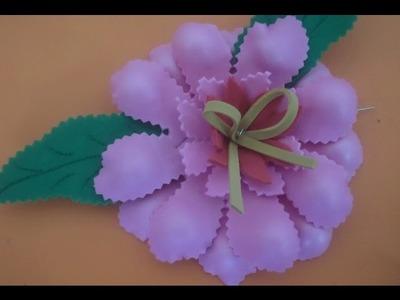 Flor de EVA Modelada