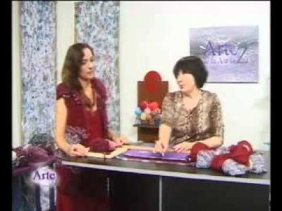 Hilados LHO en ARTEZ TV. Cómo tejer un chaleco reversible en telar.