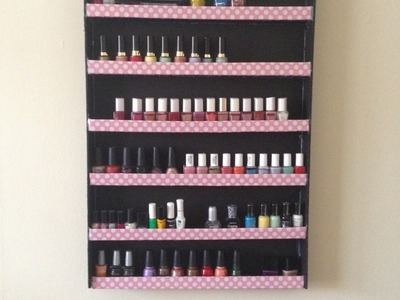 HTM: Organizador para pinta uñas.esmaltes