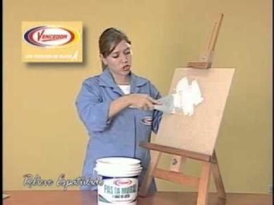 Técnicas Faux - Relieve Espatulado