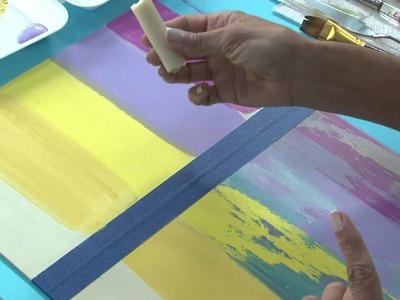 Tecnicas mixtas - Desgastado con pintura - Dimensional - Lidia Gonzalez Varela