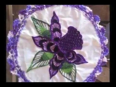 Bordado Fantasia-Proyecto XII-II Flores-Bordados Lily Ocampo y Lupita Acero