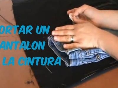 Como Cortar Un Short o Pantalon A La Cintura - TIPS-