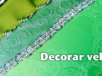 Cómo decorar velos de danza árabe