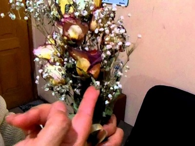 Como reciclar un ramo de novia.