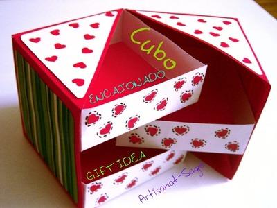 Cubo Encajonado.Idea regalo. gift idea
